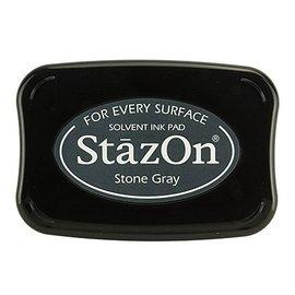 Stazon timbro a inchiostro - grigio pietra