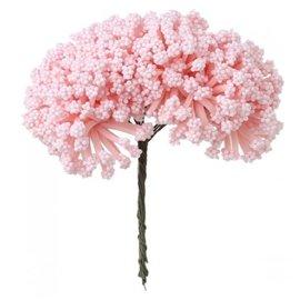 BLUMEN (MINI) UND ACCESOIRES Mini Blumenstrauss, zart rosa, Vintage Look