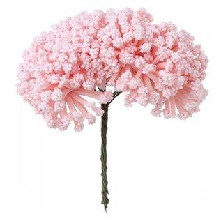 BLUMEN (MINI) UND ACCESOIRES Mini boeket, roze, vintage look