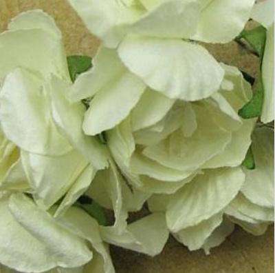 Blumen Mini Und Accesoires Blumenstrauss Weiss Vintage Look