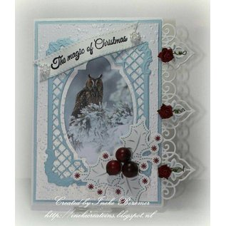 Punching and embossing template: Borders