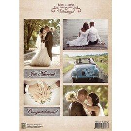 Nellie Snellen A4 broadsheet, wedding