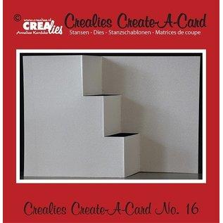 Crealies und CraftEmotions Poinçonnage et gaufrage modèle: pour la conception de la carte
