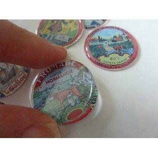 Autoadesivo a resina epossidica, ø 3,0 cm
