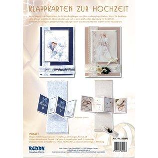 BASTELSETS / CRAFT KITS Klappkarten Set Hochzeit