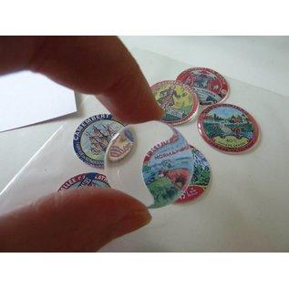 Autoadesivo a resina epossidica, ø 2,5 cm