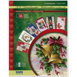 REDDY Cartões de Natal Craft carteira