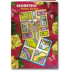 Bücher und CD / Magazines A5 livro: Etiqueta do projeto geométrico