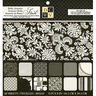 """DCWV und Sugar Plum Designer Block, """"Bella Armoire papir"""""""