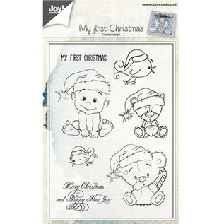 Stempel / Stamp: Transparent Transparant stempel: Baby en Teddy Bears