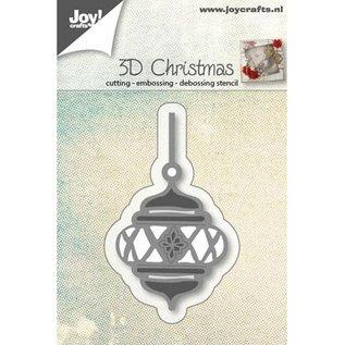 Stansning og prægning skabeloner: 3D jul Ball
