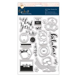 Forever Friends A5 Transparent Stempel, Kollektion Forever Friends