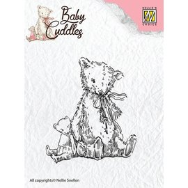 Nellie Snellen tampons transparents bébé Cuddles - Teddy Bears