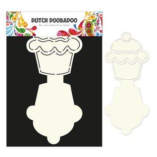 Dutch DooBaDoo masque en plastique A4