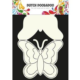 Dutch DooBaDoo A4 Kunststof Schablone