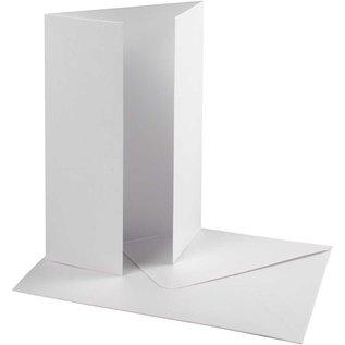 KARTEN und Zubehör / Cards Perlglanz Karte & Umschlag, Kartengröße 10,5x15 cm