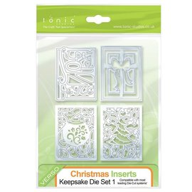 Tonic Stamping- and pre-template: 4 decorative frames