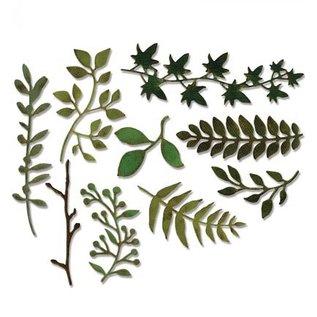Sizzix Stanz- und Prägeschablone: viele verschiedene Pflanzen