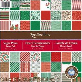 DCWV und Sugar Plum Designer bloco, 30,5 x 30,5 cm