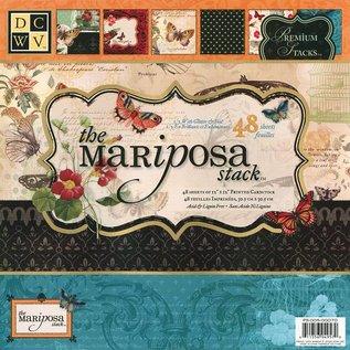 "DCWV und Sugar Plum Designerblock, 30,5 x 30,5cm, "" Mariposa"""