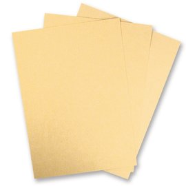 DESIGNER BLÖCKE / DESIGNER PAPER 5 Bow Metallic cardboard, ivory