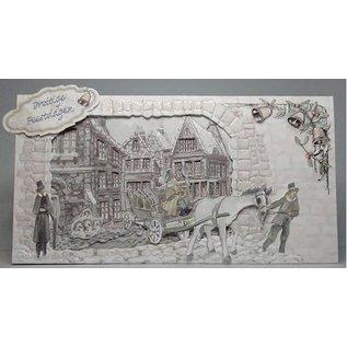 BASTELSETS / CRAFT KITS Card Complete Set Temps de Noël