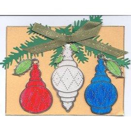 Sticker Starform Sticker, Weihnachtskugel