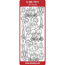 Sticker Sticker, Kerzen