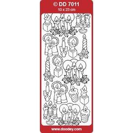 Sticker Etiquetas, velas