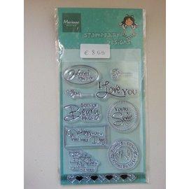 Stempel / Stamp: Transparent I timbri trasparenti, richieste di testo