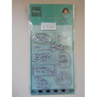 Stempel / Stamp: Transparent Transparent Stempel, Text: Wünsche