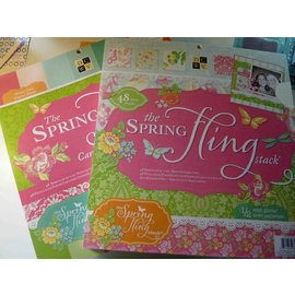 DCWV und Sugar Plum Designerblock, The Spring Fling