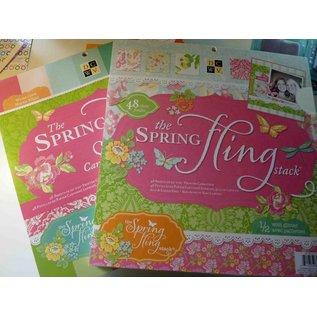 DCWV und Sugar Plum Designerblock, The Spring Fling