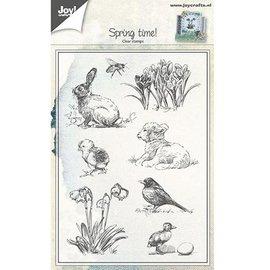 Joy!Crafts / Hobby Solutions Dies timbro trasparente: Primavera tema