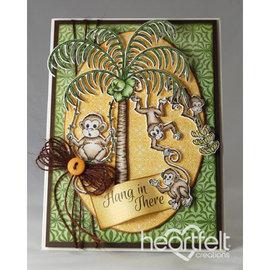 Heartfelt Creations aus USA Nova coleção: o Monkeying ao redor Colecção
