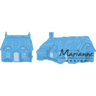 Marianne Design Cottages poinçonnage gabarit minuscule