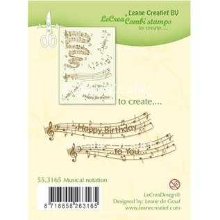 Leane Creatief - Lea'bilities timbre Transparent: La notation musicale