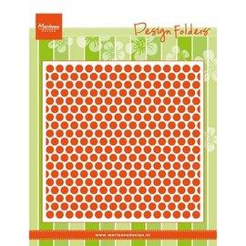 Marianne Design Embossing folders: Sweethearts, points