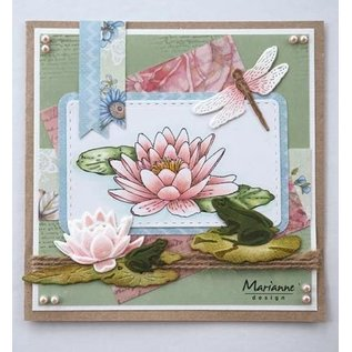 Marianne Design Stanzschablone: Tiny's waterlily
