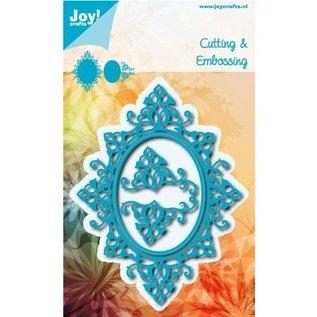 Joy!Crafts / Hobby Solutions Dies Stanzschablone: Ovale Rahmen und 2 Ecke