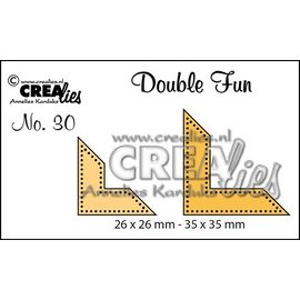 Crealies und CraftEmotions Stan templates: hoekpunten