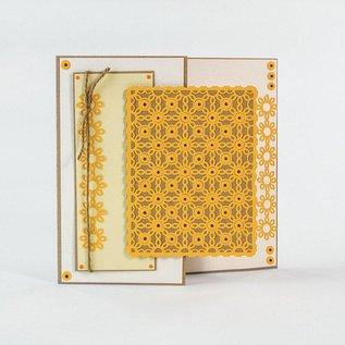 Tonic Stanzschablonen: Deco Rahmen Flower