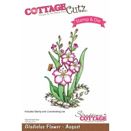 Cottage Cutz NY stempling stencil stempel +: Flower