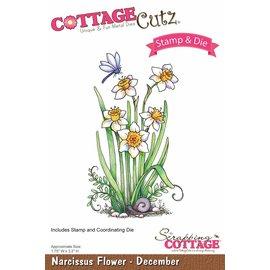 Cottage Cutz NOVO selo stamping estêncil +: Flor
