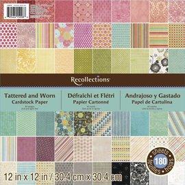 Karten und Scrapbooking Papier, Papier blöcke Designerblock: recollections, 180 Bogen!