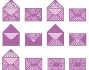 Ponsen sjabloon voor enveloppen A6