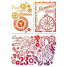 "Dutch DooBaDoo Universal template ""Past Times"""