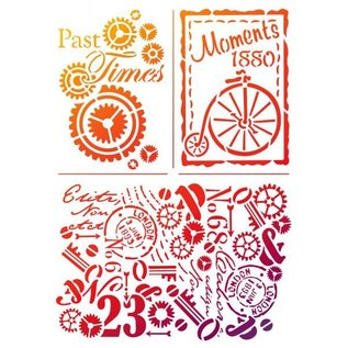 "Dutch DooBaDoo Universal skabelon ""Past Times"""