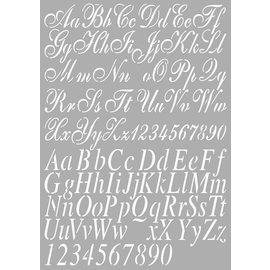 Dutch DooBaDoo letras Molde universal A4