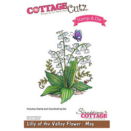 Cottage Cutz NOUVEAU timbre pochoir marquage +: Fleur